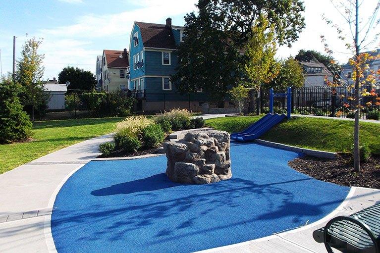 Brighton Ave Playground - Playground Project NJ