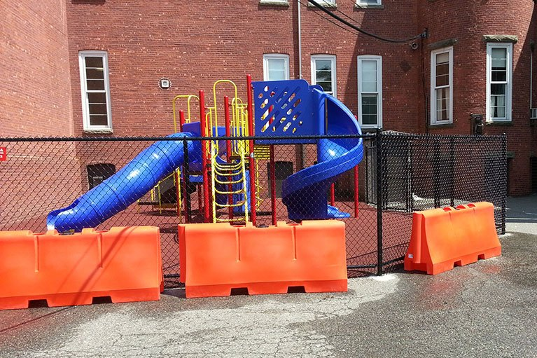 Cleveland Street Elementary School - Playground Project NJ