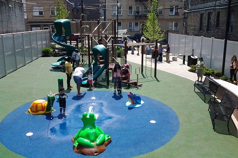 Dewey Ave Park - Waterpark Equipment Project NY