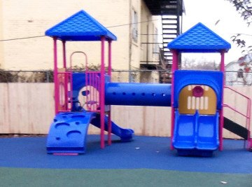 Edna R. Thomas Preschool Playground - Playground Project NJ