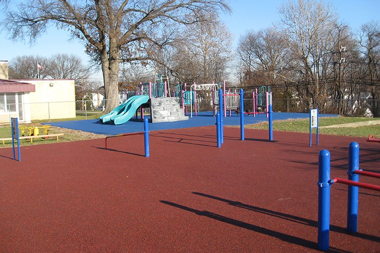 Hannah Caldwell School - Playground Projects NJ
