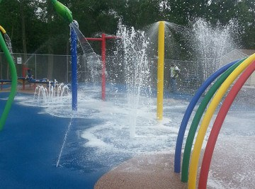Michael Tighe Splash Park - Playground Project NJ