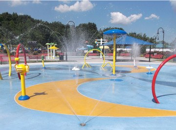 North Bergen Splash Park - Waterpark Equipment Project NJ
