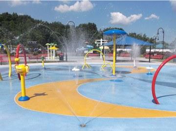 North Bergen Splash Park - Waterpark Equipment Project NJ