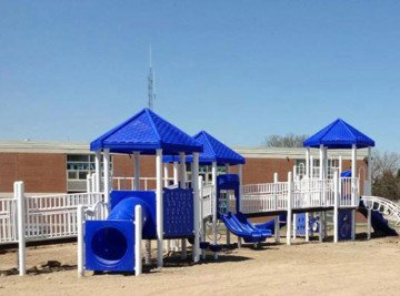 Sandy Ground Ansonia - Playground Project NJ
