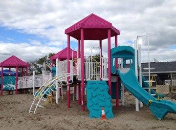 Sandy Ground Fairfield - Playground Project CT