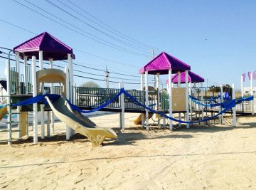 Sandy Ground Long Beach Island - Playground Project NJ