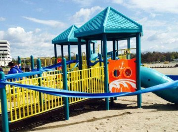 Sandy Ground Stamford - Playground Project CT