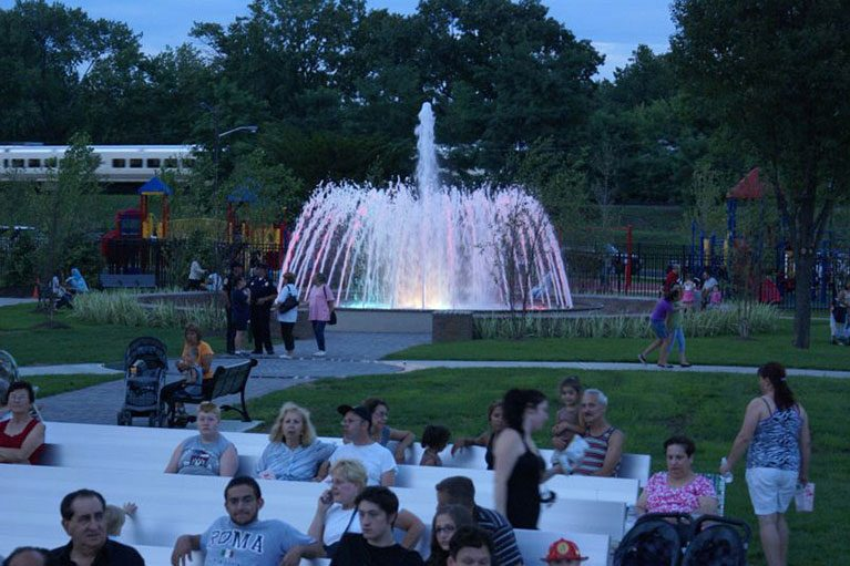 Town Hall Park - Phase III - Playground Project NJ