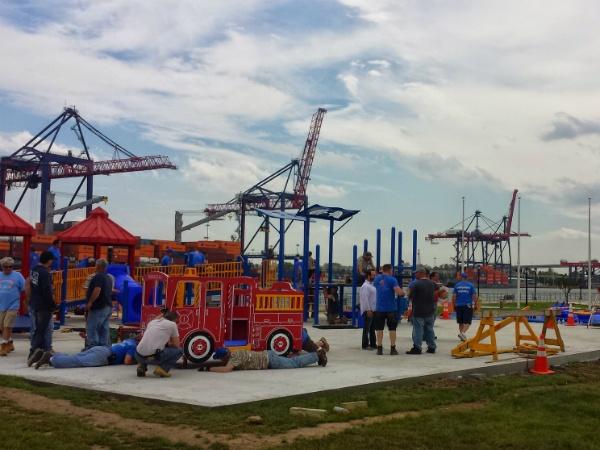 Playground demolition-grading-excavation NJ