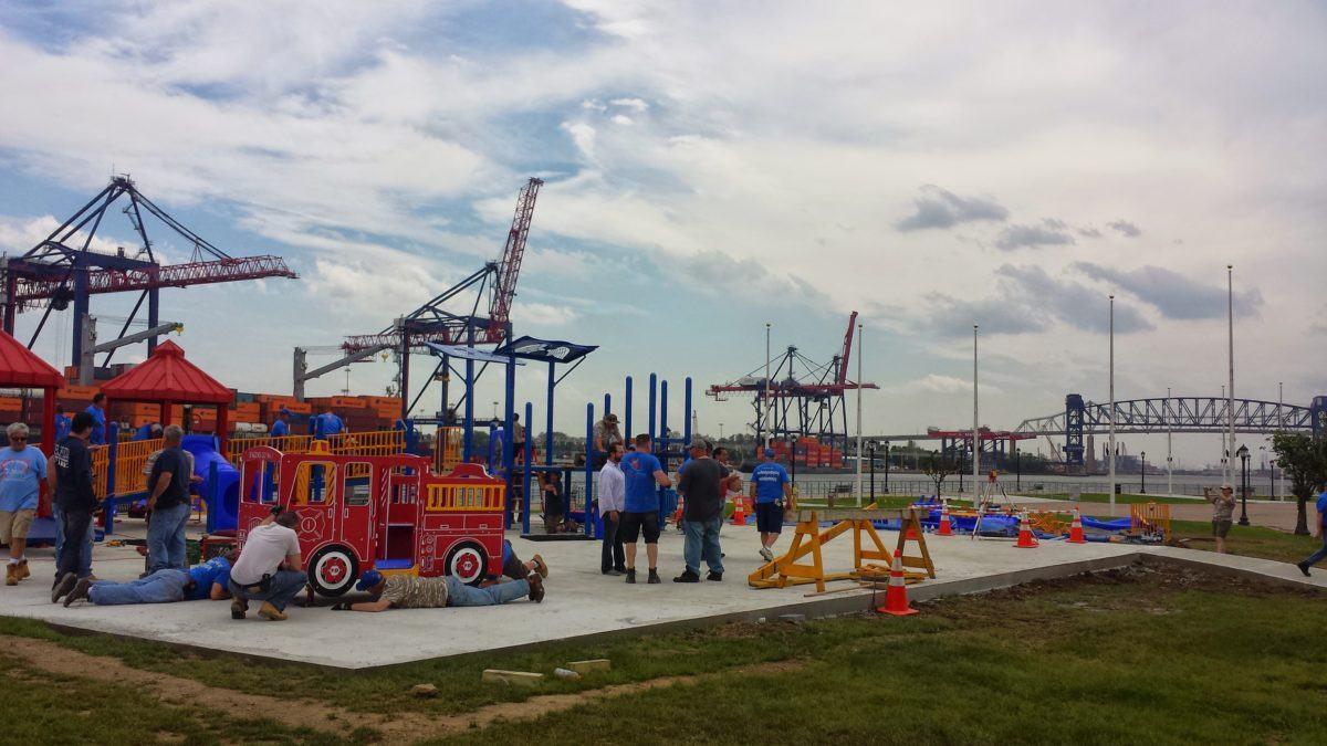 Demolishing and Rebuilding Playgrounds