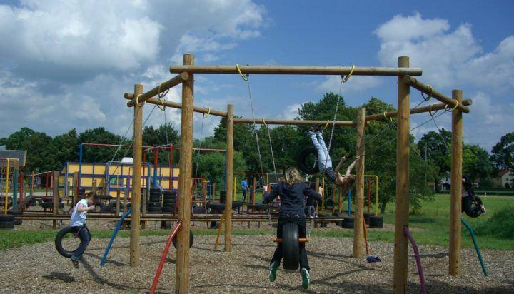 Dangerous Playground Equipment